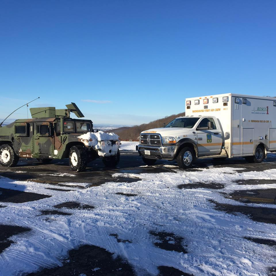 Thanks to the National Guard for all of their help with snowstorm Jonas!