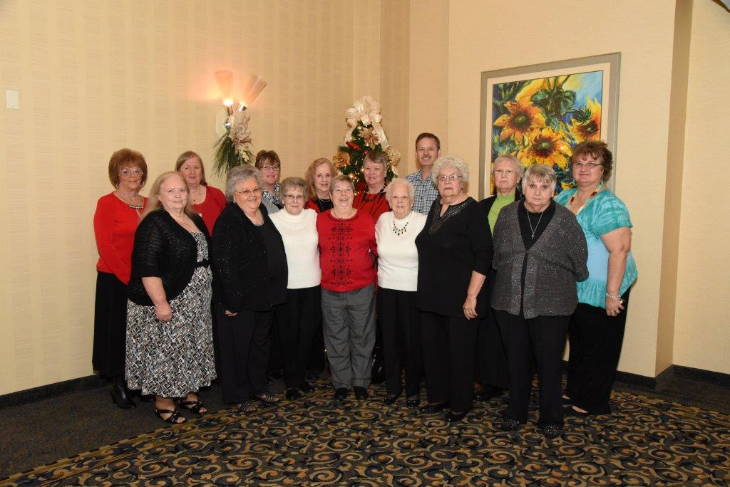 The WFAC Auxiliary at the 2016 WFAC Banquet