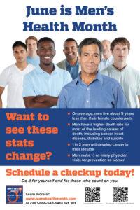 June is National Men's Health Month!