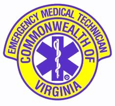 Commonwealth of Virginia EMT Patch