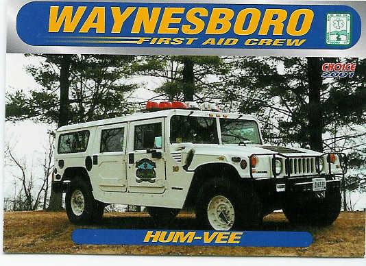 A now out of service Hummer that provided service to WFAC for many years.